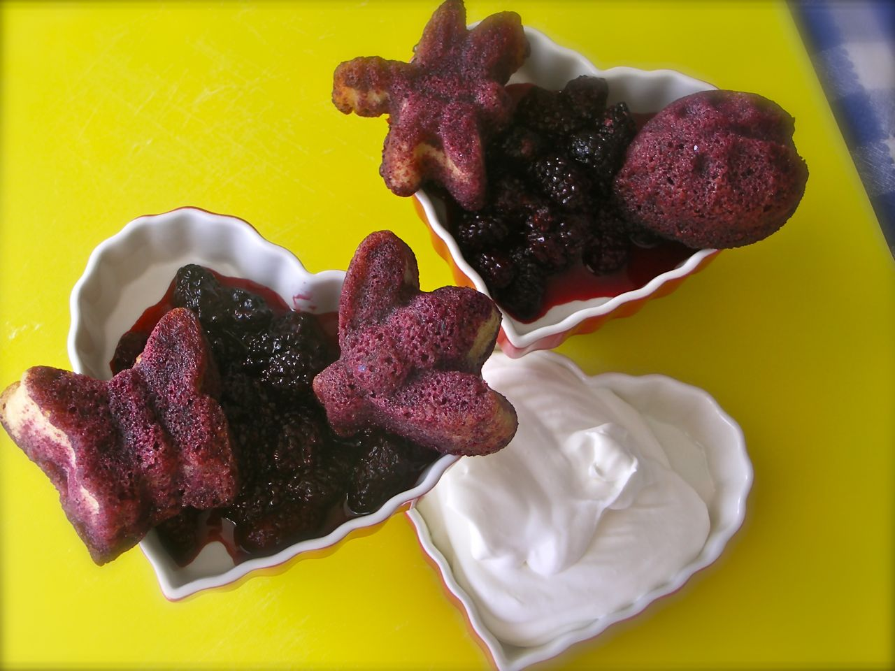... take on ROSE'S heavenly CAKES: Marionberry Shortcake (page 332