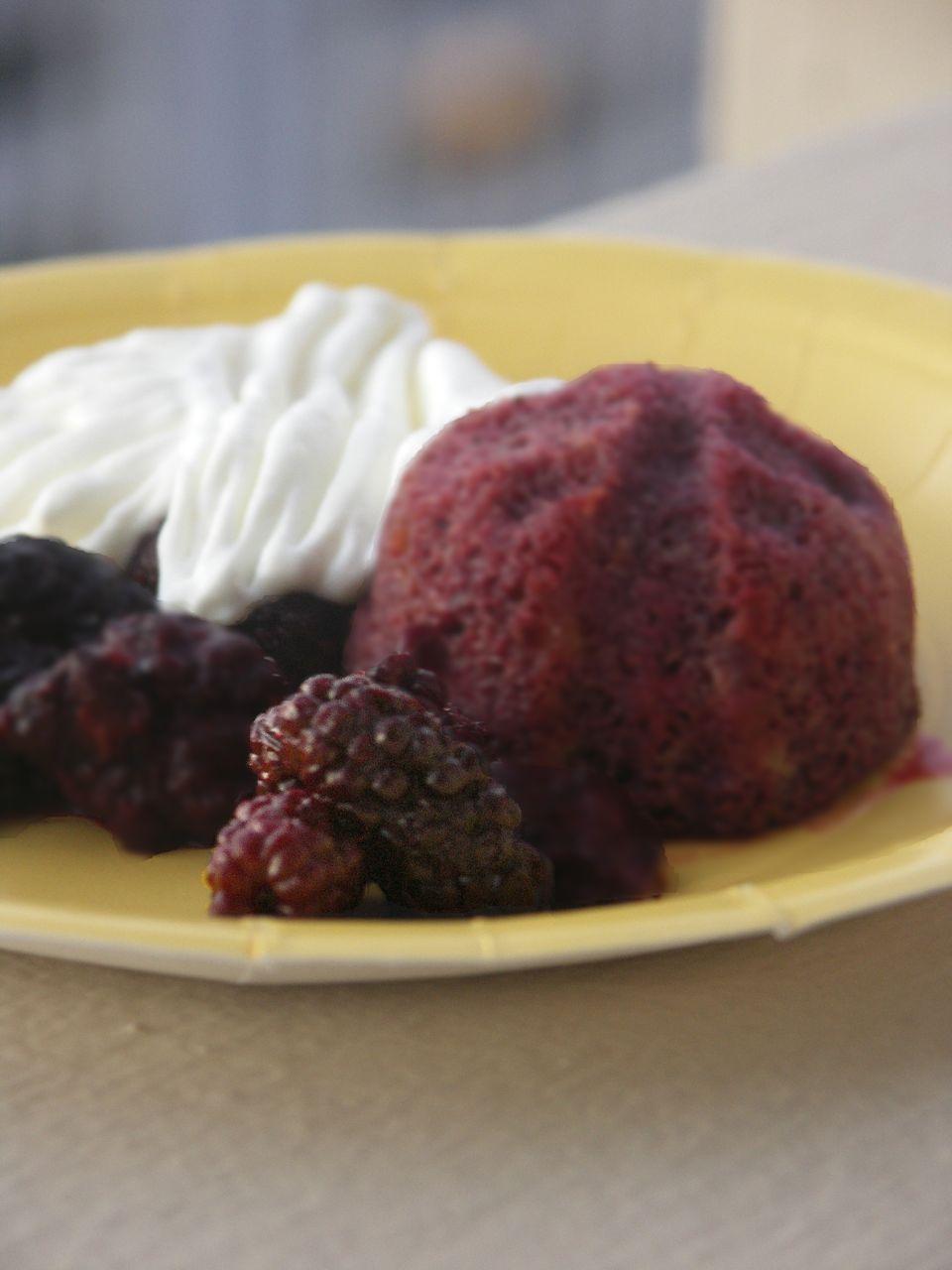... heavenly CAKES: Marionberry Shortcake (page 332), alternate photo
